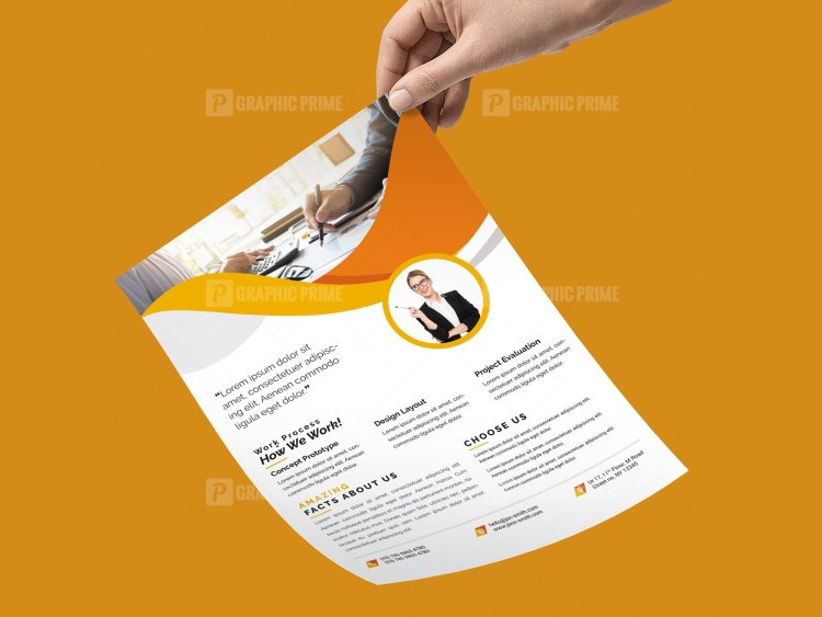 PSD Modern Corporate Flyer