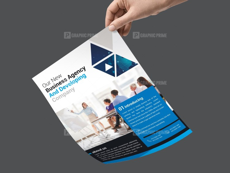PSD Sleek Flyer Template