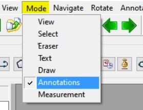 mode - annotations