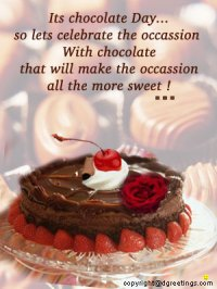greetings for chocolate day