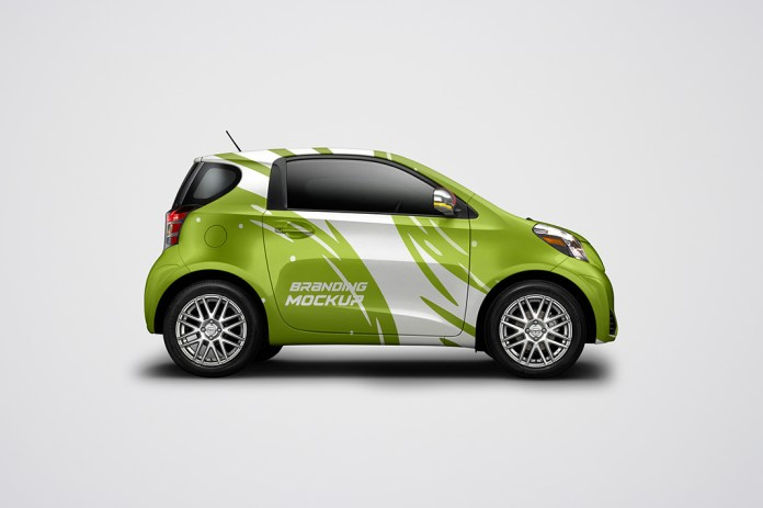 Electric-Car-mockup