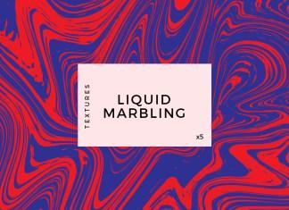 Liquid Marble vector Background