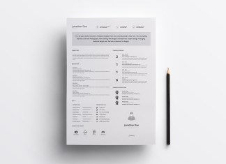 free professional resume template FREE