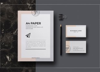 a4-paper-overhead-view-mockup