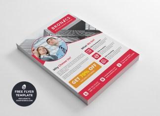 corporate multipurpose flyer template #1