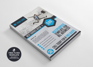 corporate multipurpose flyer template #5