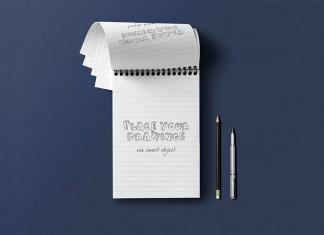 notepad-overhead-view-mockup