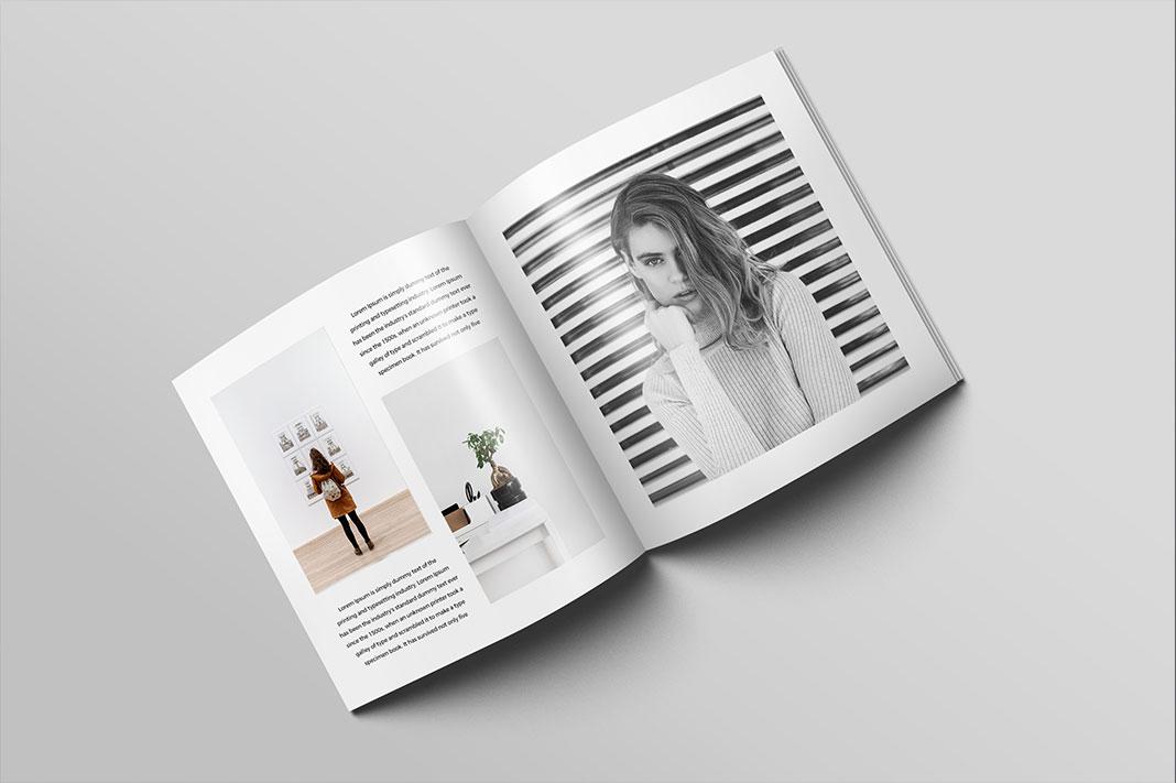 square magazine brochure mockup graphicsegg
