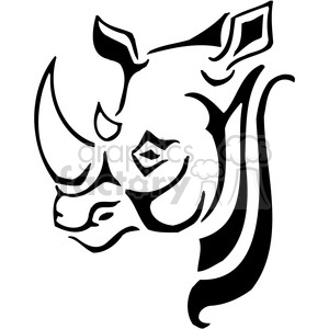 Rhinoceros Design Clipart Royalty Free Clipart 385456