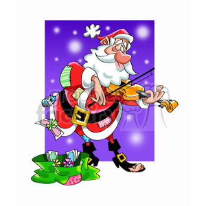 Mexican Santa Claus Cartoon Clipart Royalty Free Gif Jpg