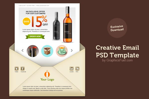 Baker, crs abr sfr cdpe is a contributor for fit small business' real estate section and the broker~owner of at home real estate gro. Creative Email Newsletter Psd Template Graphicsfuel