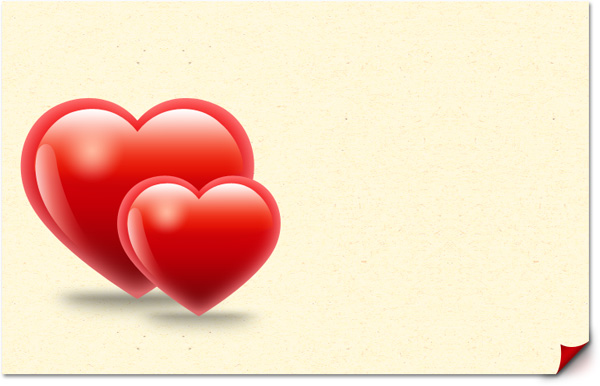 valentine hearts card template psd graphicsfuel