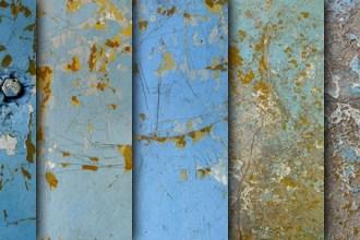 Wall paint peeling textures