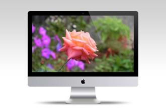 Apple iMac 27″ Mockup PSD Template