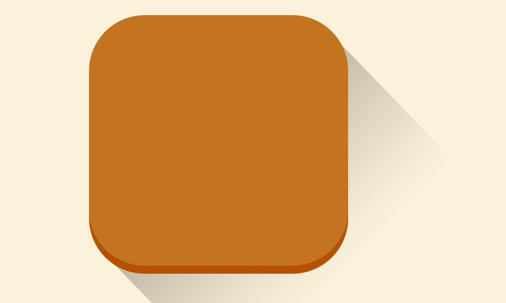 ios7 flat icon PS tutorial