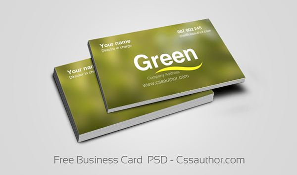 Free-Business-Card-PSD-Cssauthor
