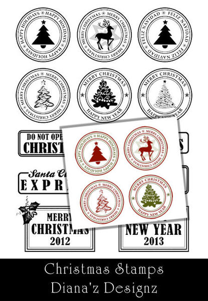 Xmas-Stamps