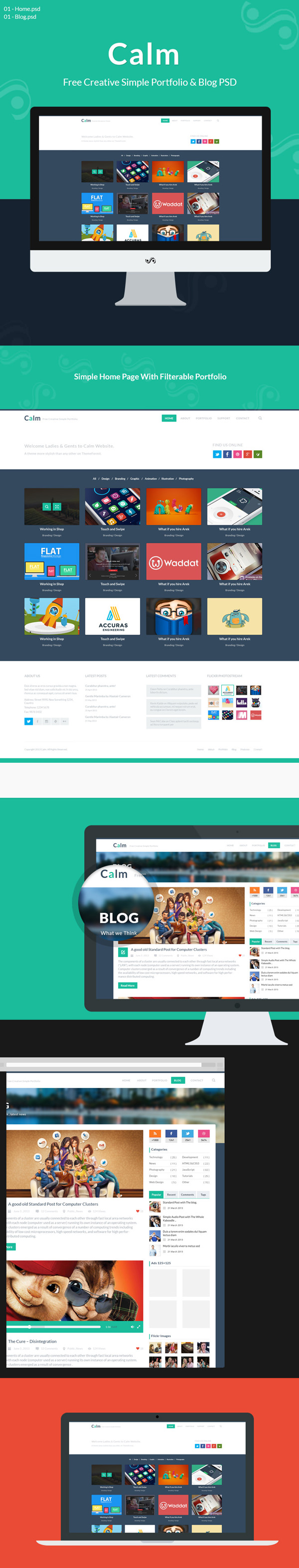 free-psd-template-preview