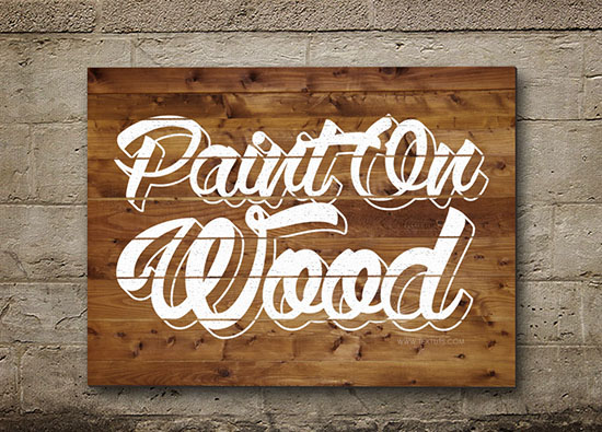 PaintOnWood-text-effect-tutorial