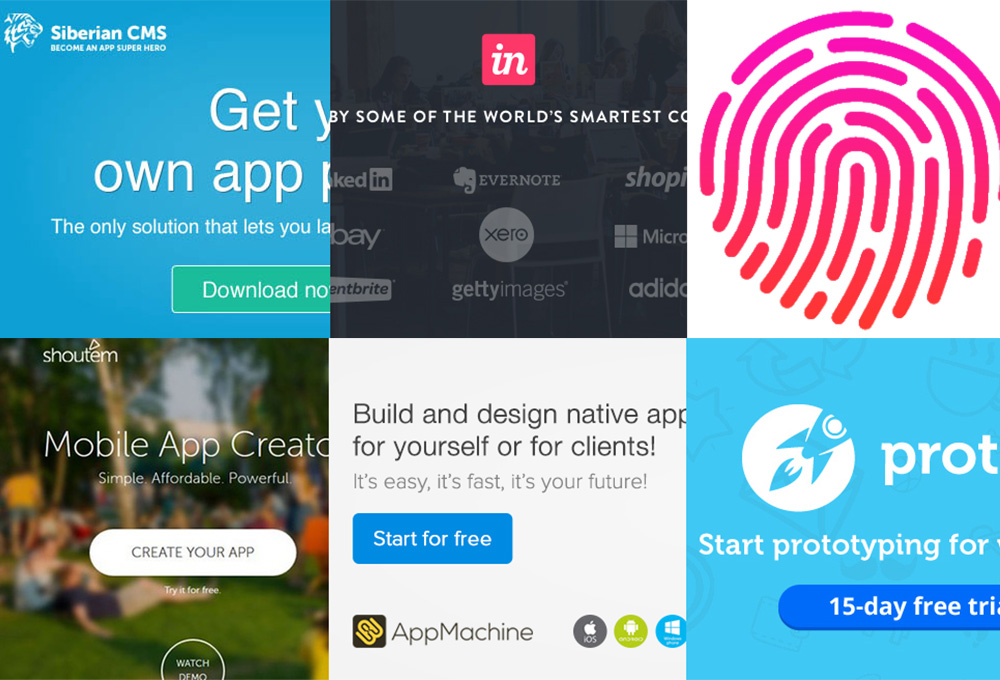 15 Top Prototyping and App Creation Tools - GraphicsFuel
