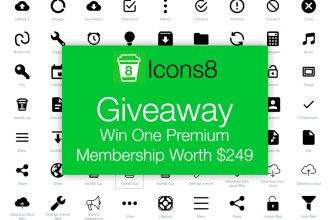 Giveaway: Win Icons Membership Worth $249 From Icons8