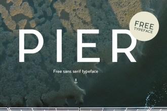 Pier: Free Typeface