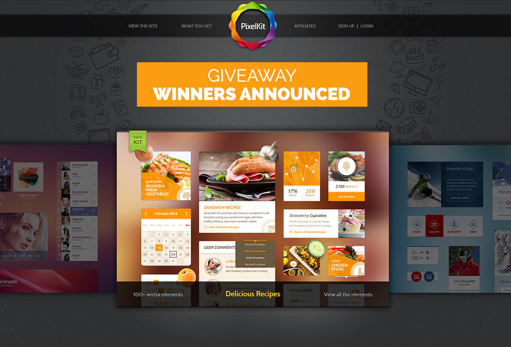 PixelKit-giveaway-winners