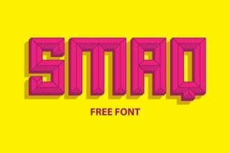 SMAQ: Free Font