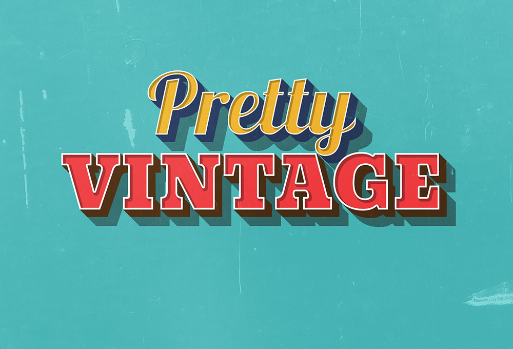 pretty-vintage-text-effect