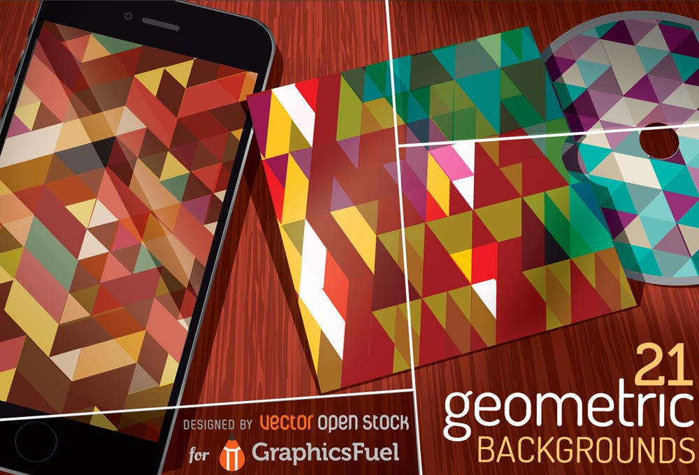 free-vector-geometric-backgrounds