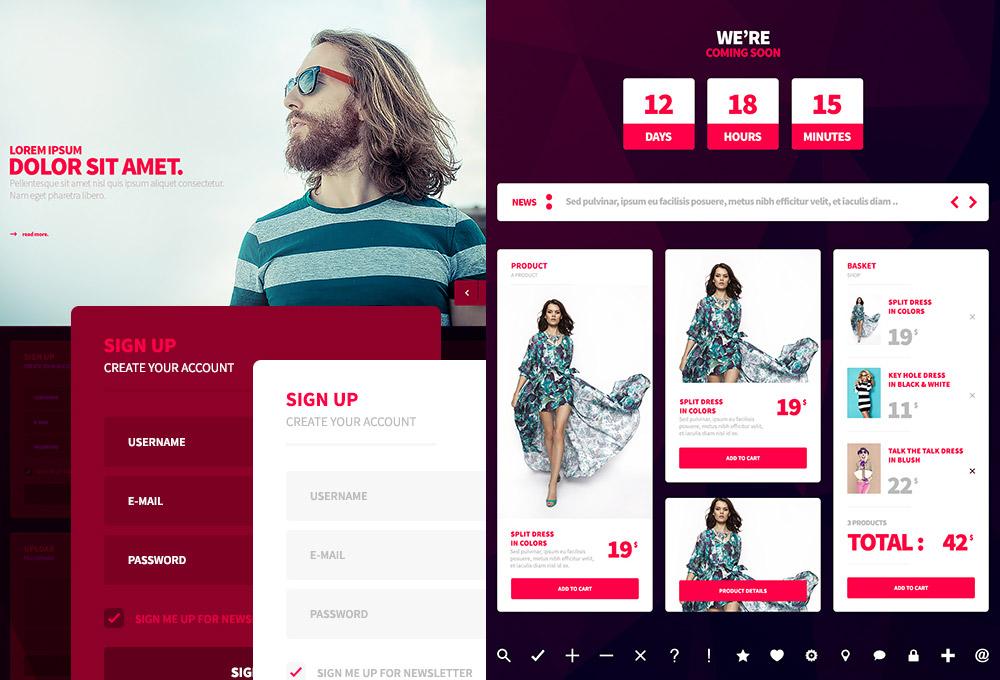 free-web-mobile-ui-kit