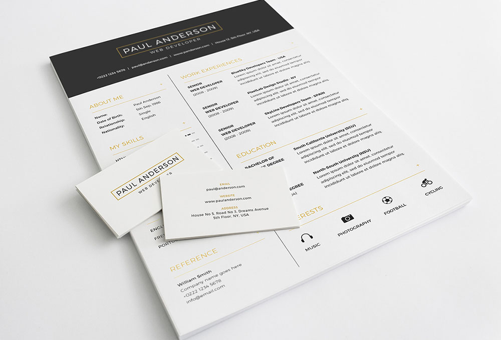 free-resume-template1