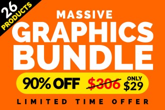 Massive Graphics Bundle - 90% Off