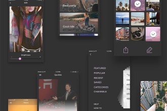 Cardzz: iOS PSD UI Kit