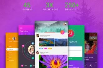 Free Android App UI Kit