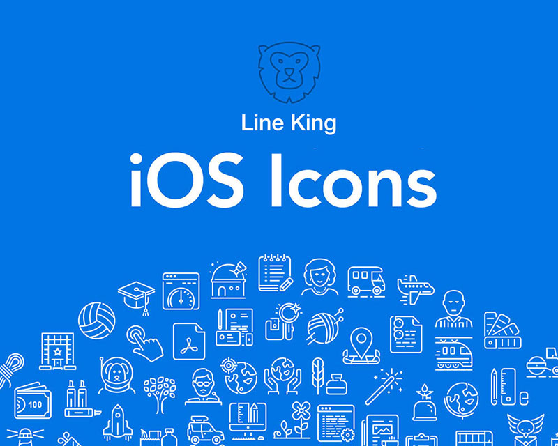 LineKing iOS Icons