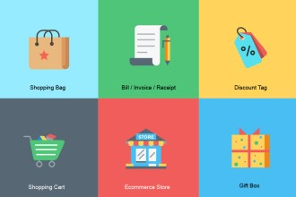 Free Ecommerce Icon Set