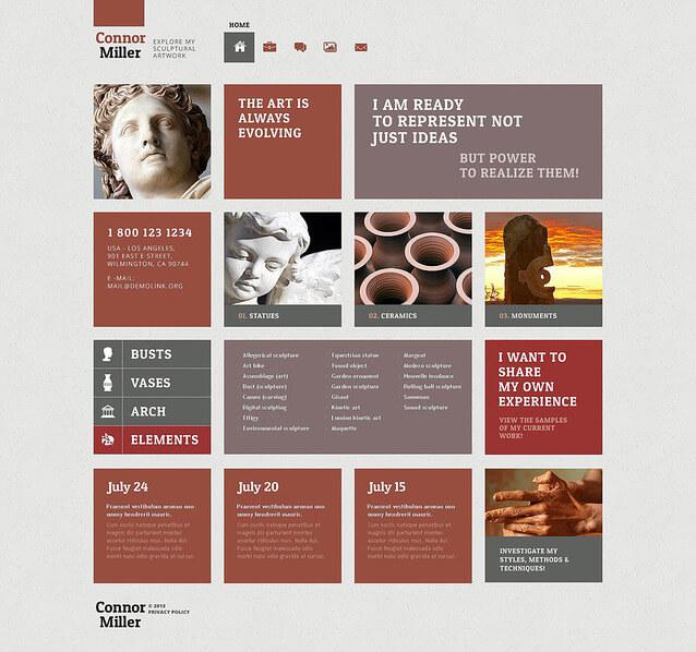 Art Blog WordPress Theme