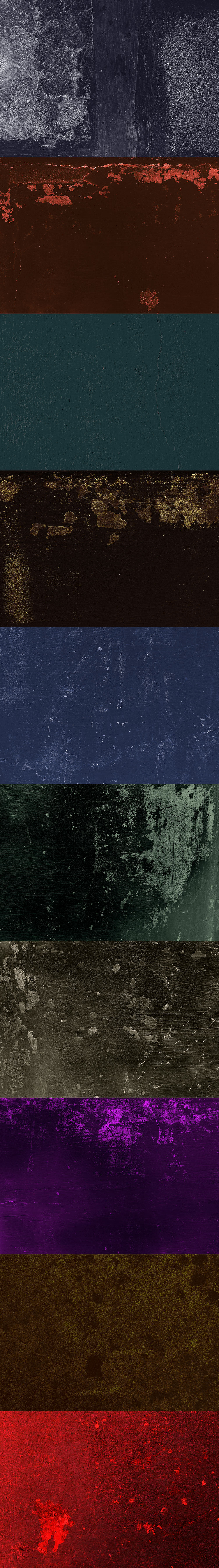 Free Dramatic Color Grunge Textures