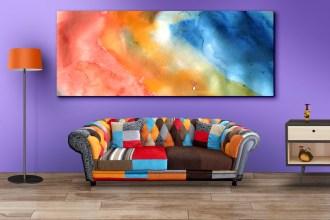 Living Room Wall Art Mockups