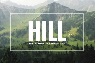 HILL: Win 3 Copies of Premium Responsive WooCommerce Theme