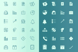138 Free Business iOS Icons