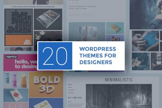 20 Clean WordPress Themes for Designers (Free and Premium)