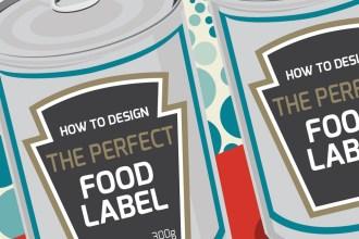 Infographic on Food Label Design