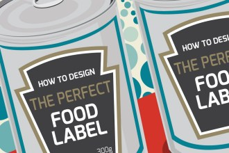 Infographic on Food Label Design