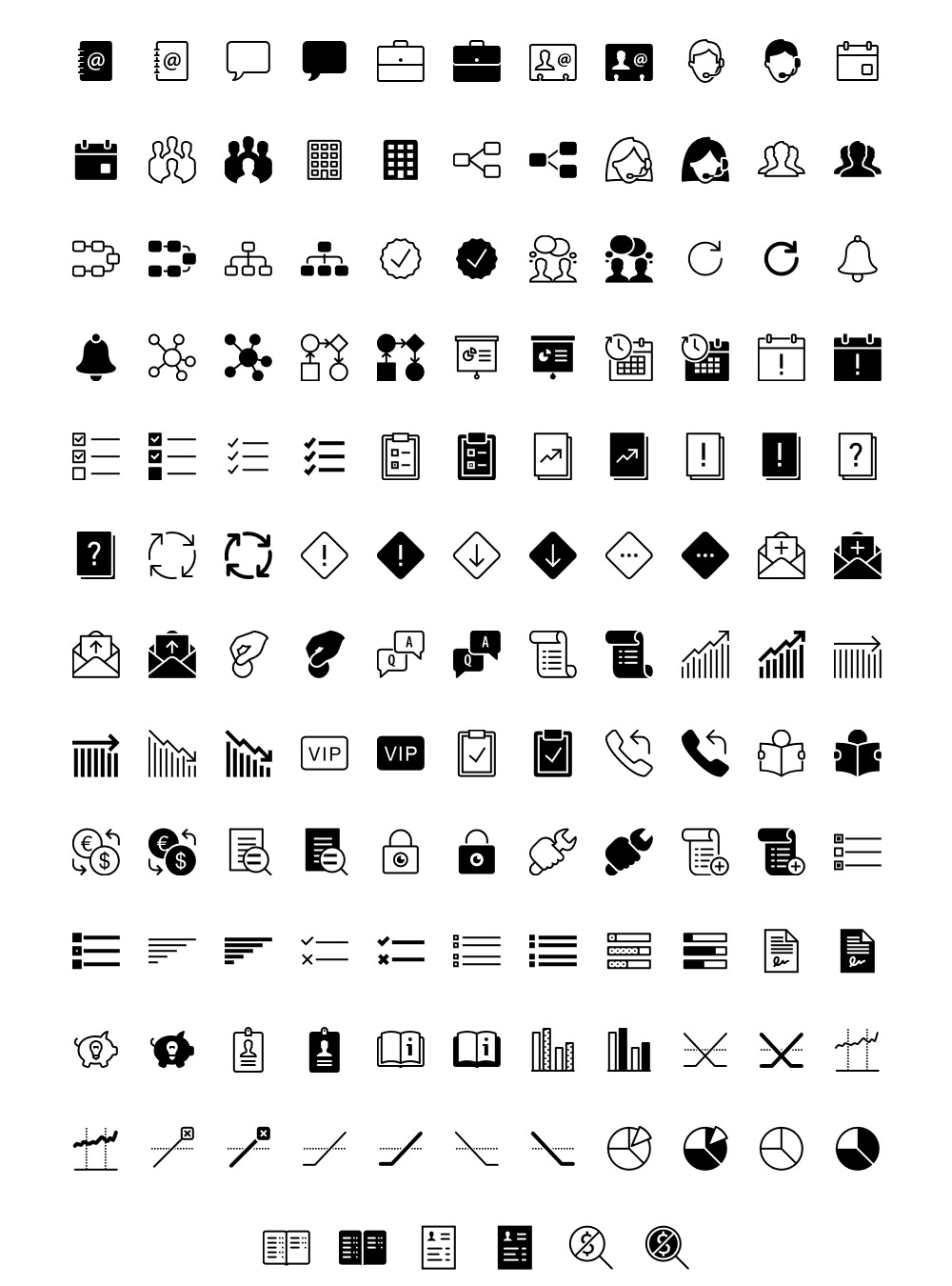 Free Business iOS Icons