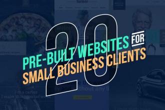 20 Pre-Built Website WP Themes