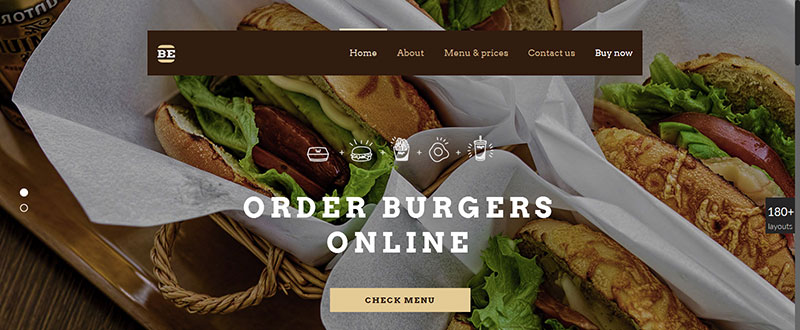 Be Burger WP Theme