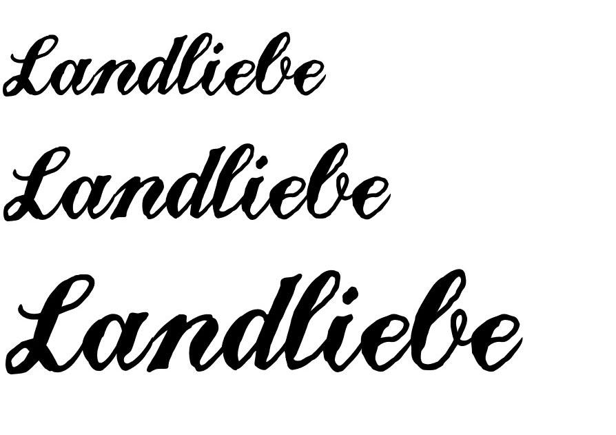 Landliebe Script Font