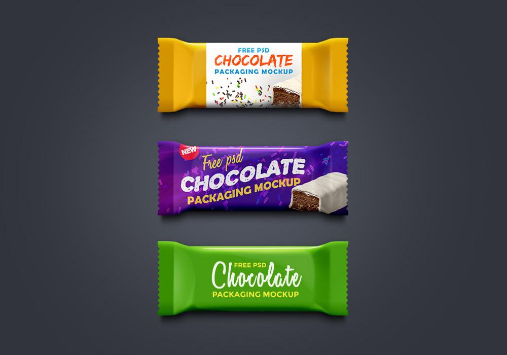 Free Chocolate Packaging Mockup